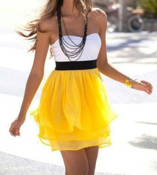What is summer without yellow